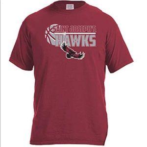 Saint Joseph Hawks Basketball Logo Tee NWT XXL